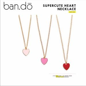 Ban.do Supercute Heart Necklace